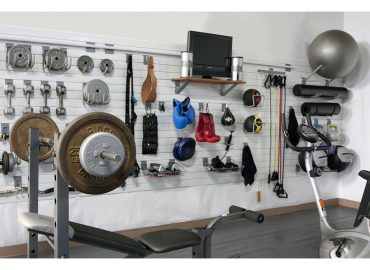 transform your garage into a home gym