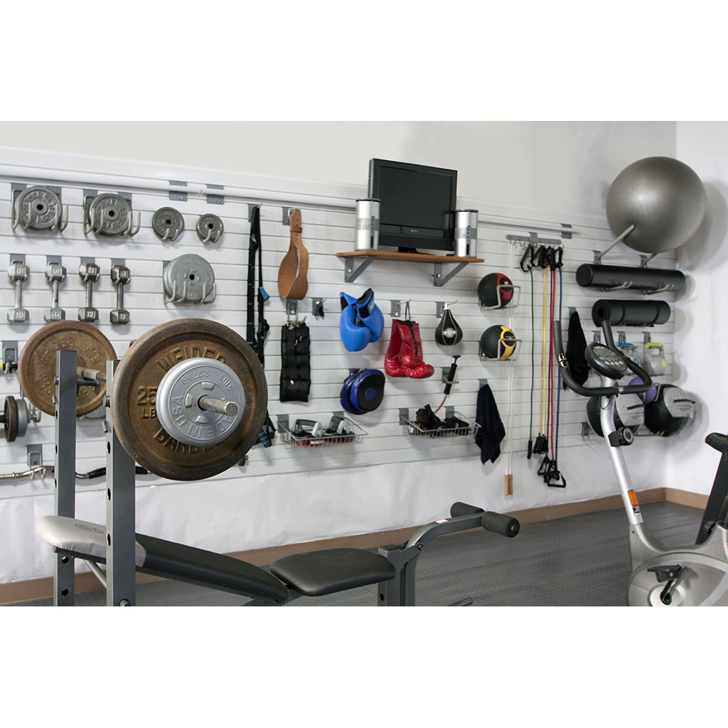 Transform your garage into a home gym storewall