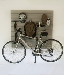 Simple Bike Rack for your Garage Wall