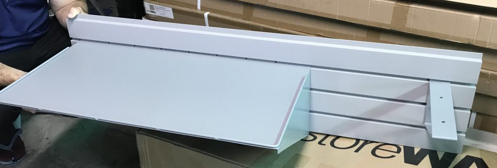 shelves for a small garage