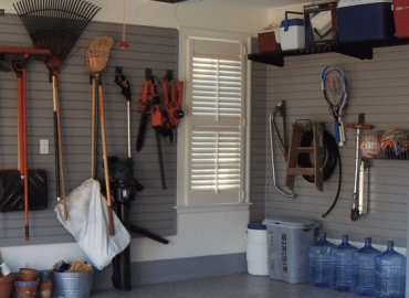 maximising your garage walls