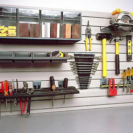 slatwall for workshops