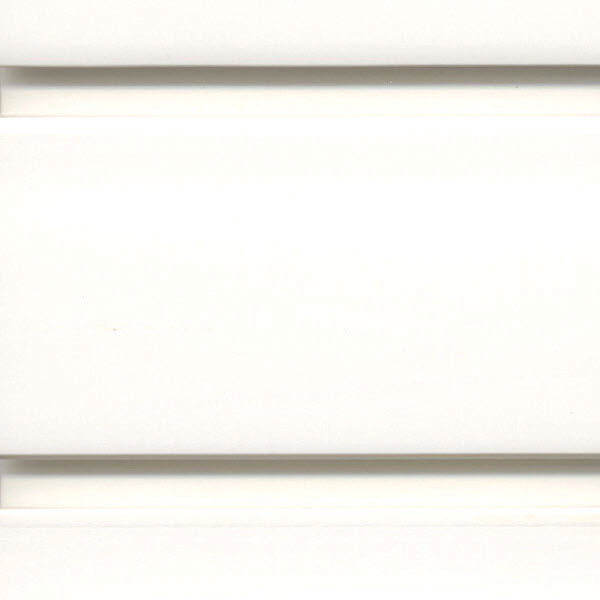 coloured slatwall - brite white