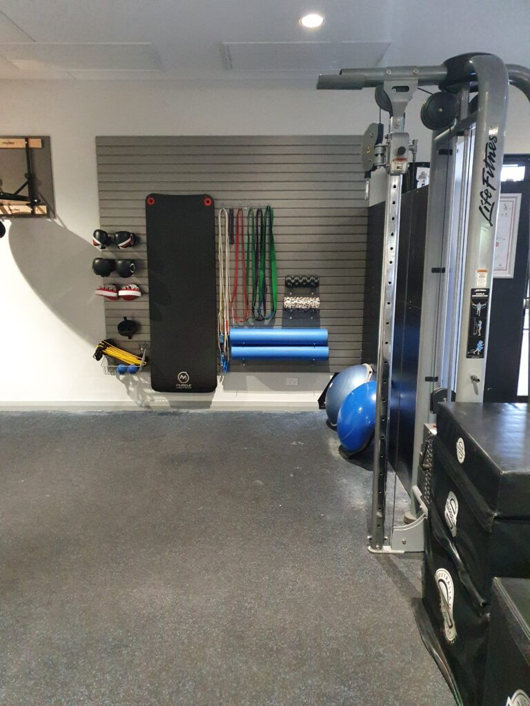 storewall gym setup