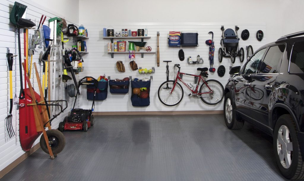 the organised garage