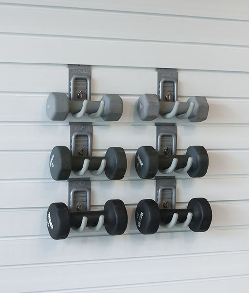 Cradle Hook Holding Weights