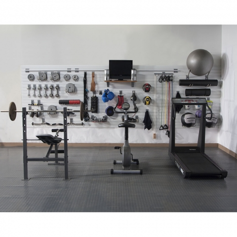StoreWALL DIY Home Fitness Room