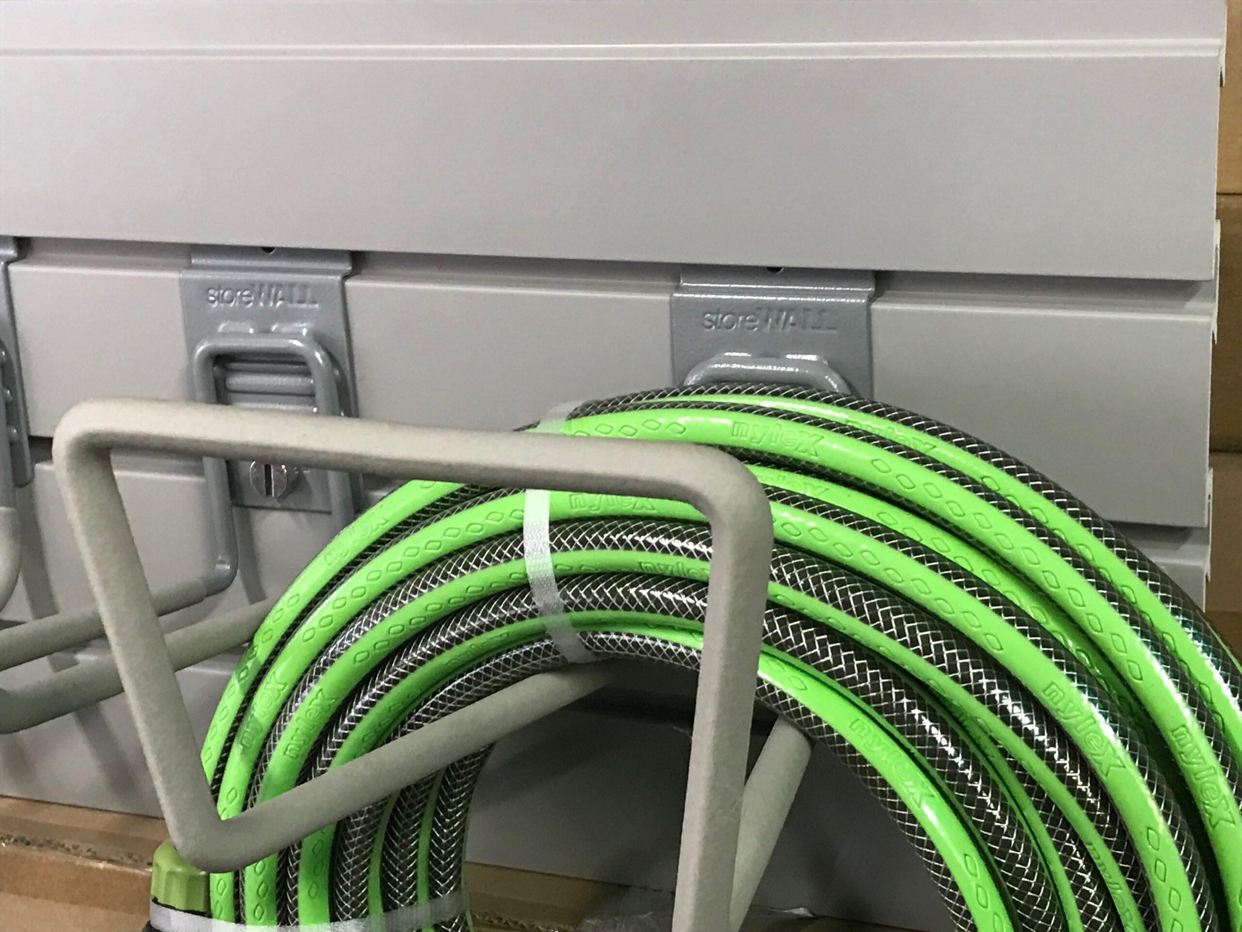 Storing Garden Hose in Garage