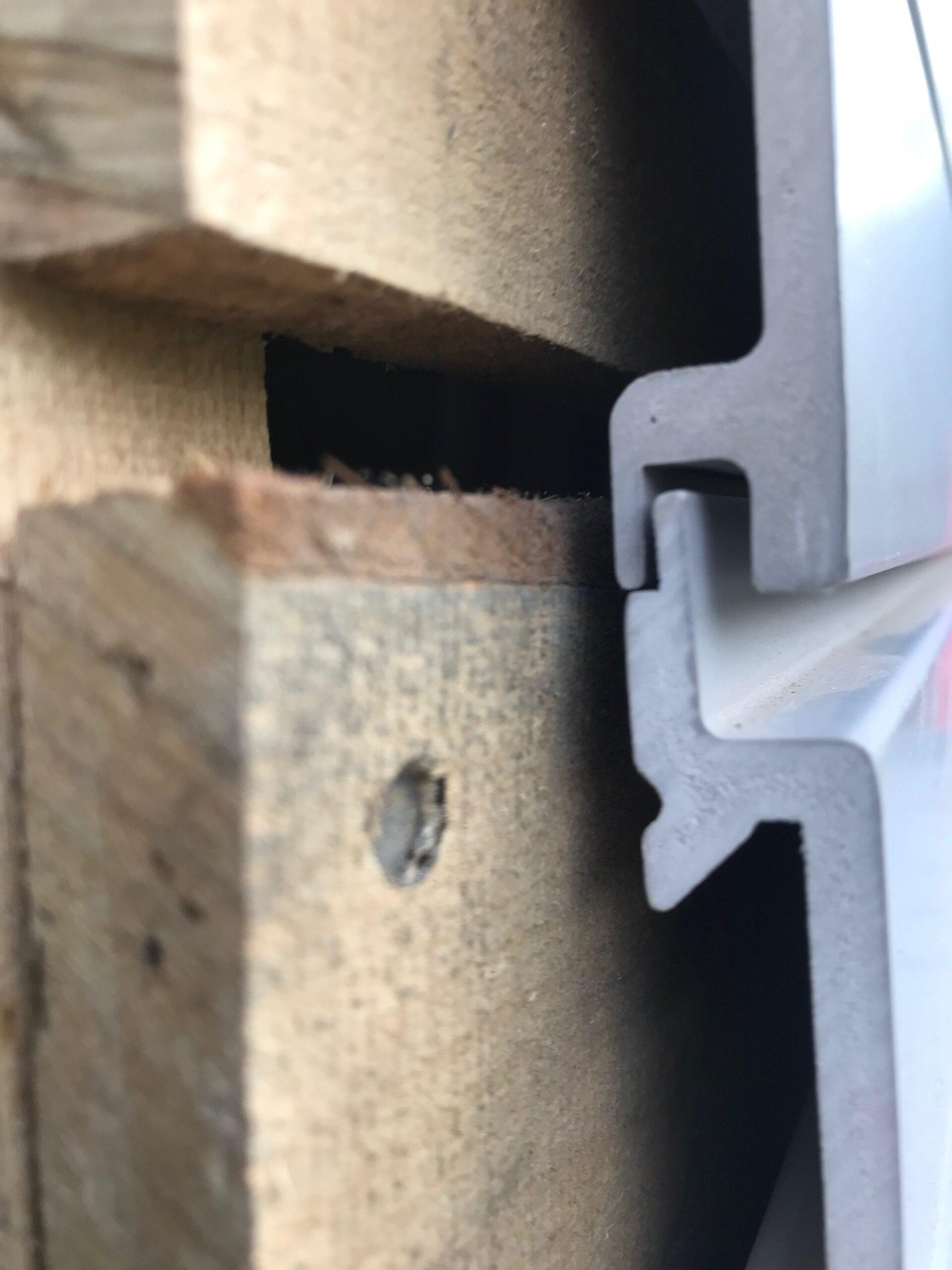 Garage Slatwall Installation