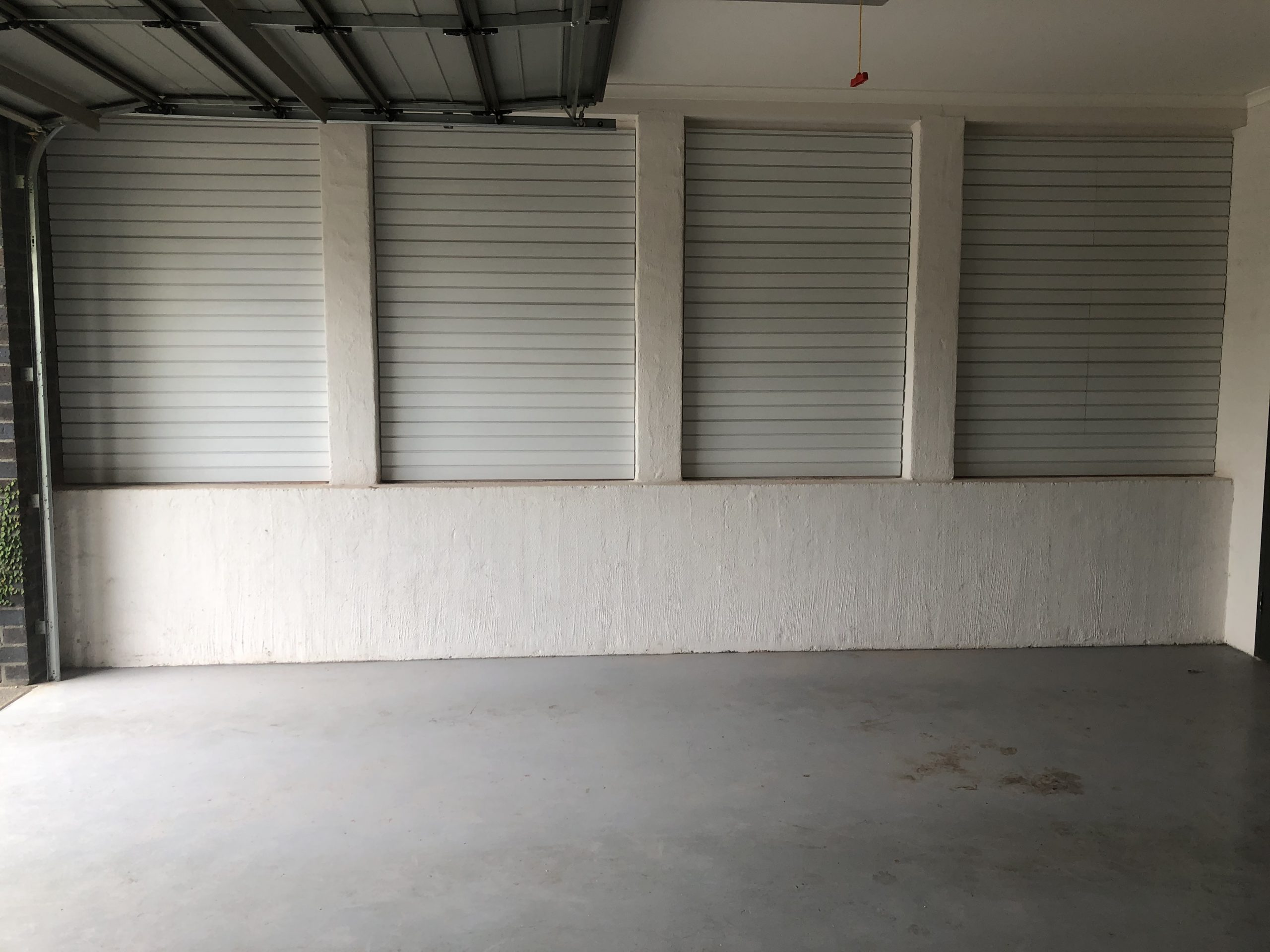 Brite White Wall Panels for Garage