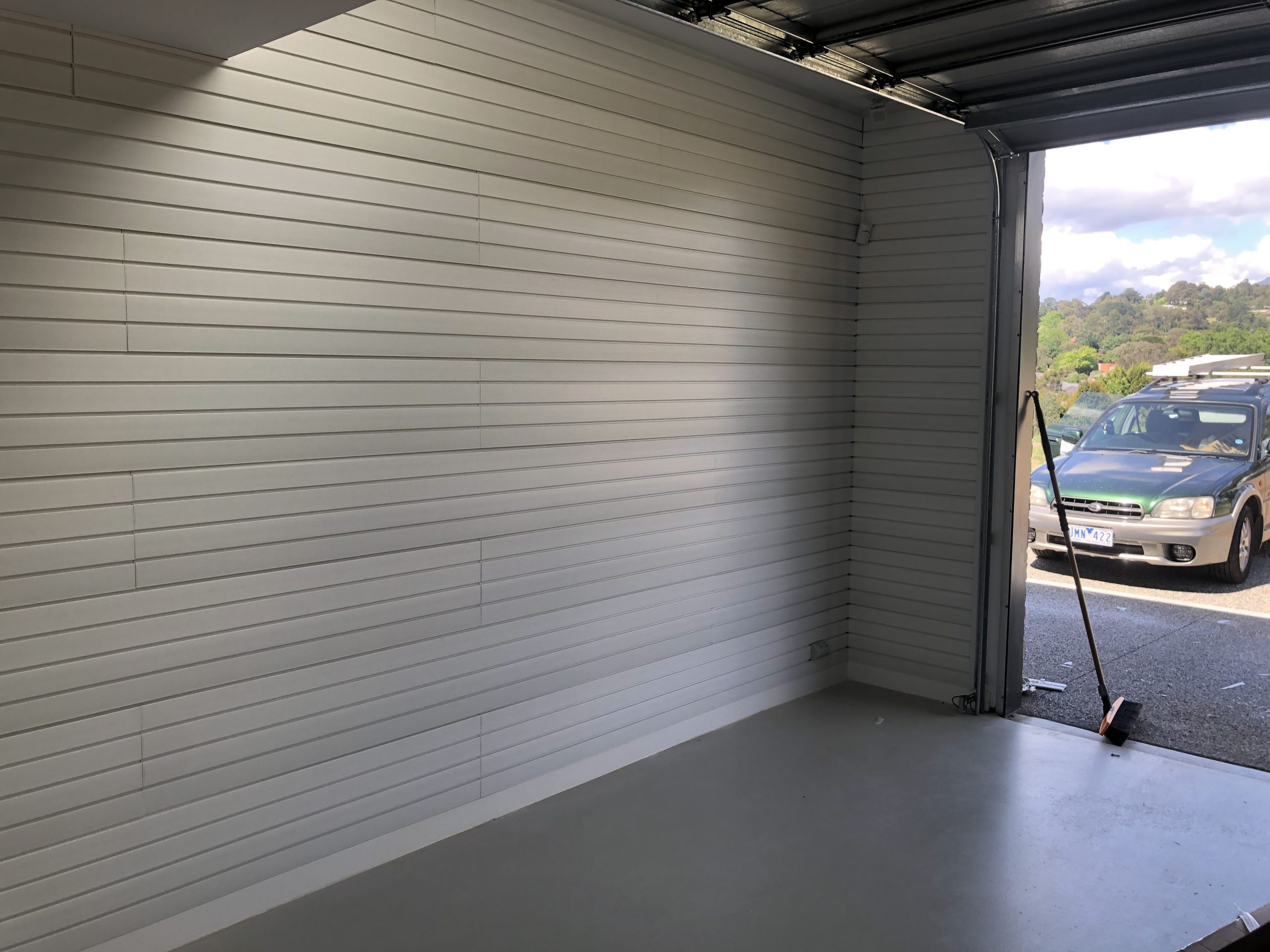 Brite White Wall Panel Installation - Healsville