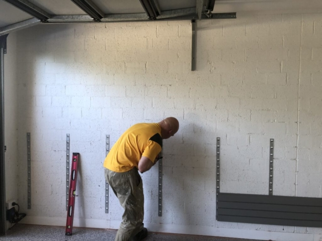 Brick Wall Garage Installation Melbourne