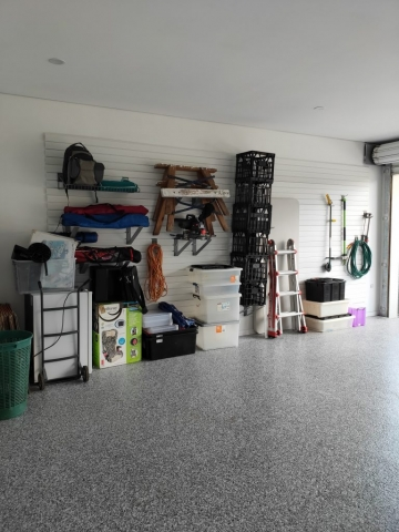 StoreWALL White Garage Wall Panels