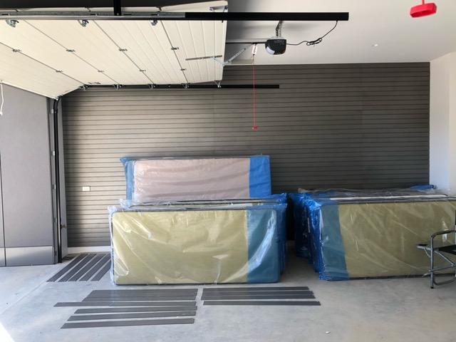 StoreWALL Graphite Steel Wall Panel Installation