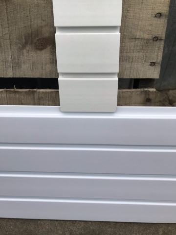 StoreWALL Basic White Vs Standard Duty Brite White