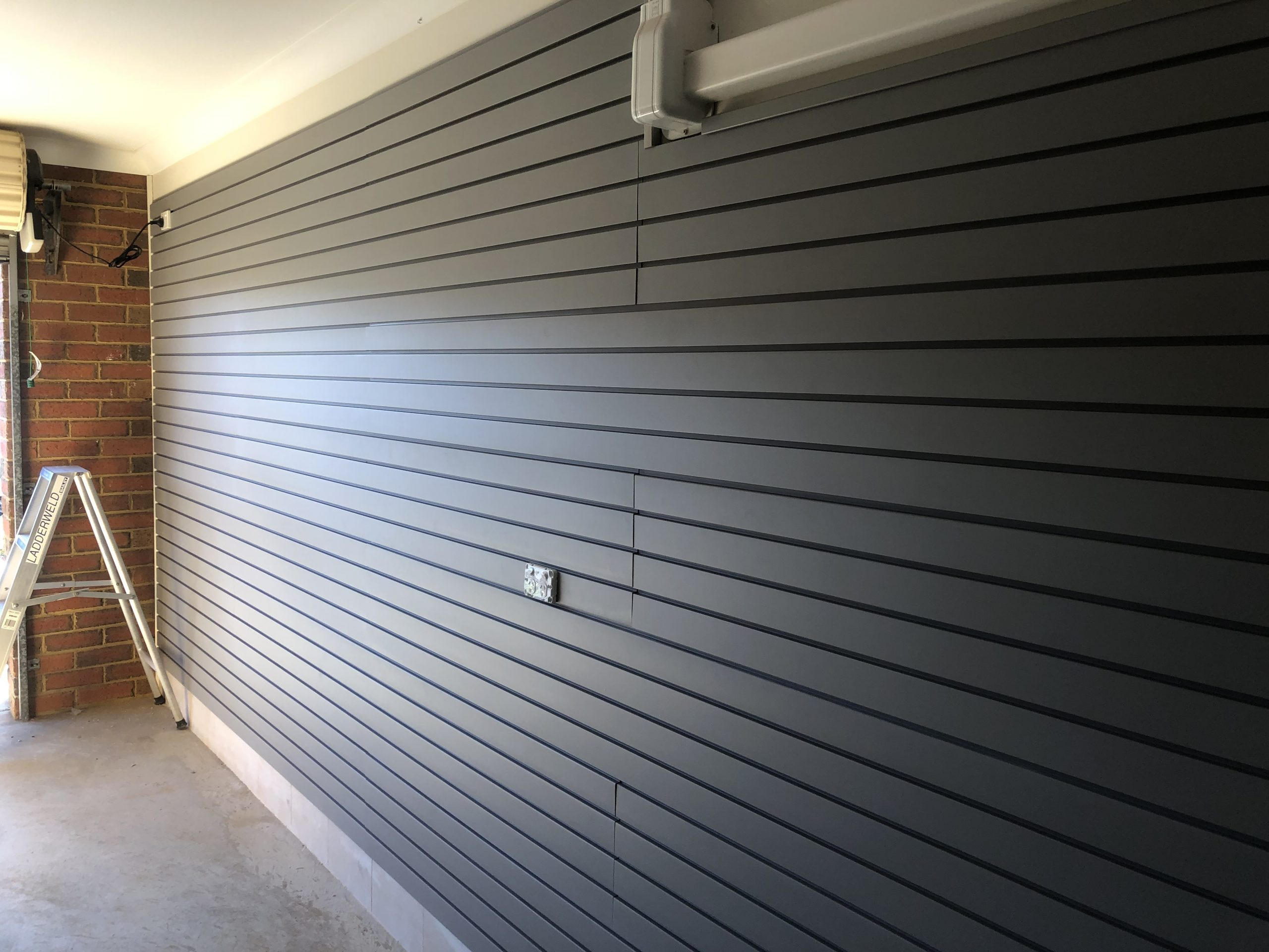 Slatwall installation Werribee
