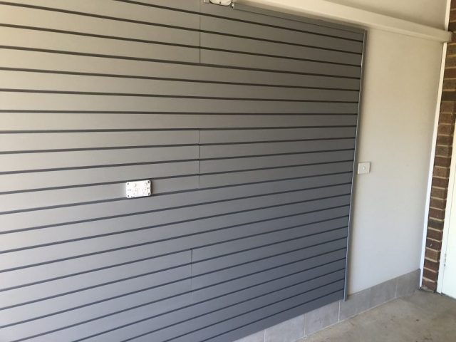 Garage Slatwall Installation Melbourne