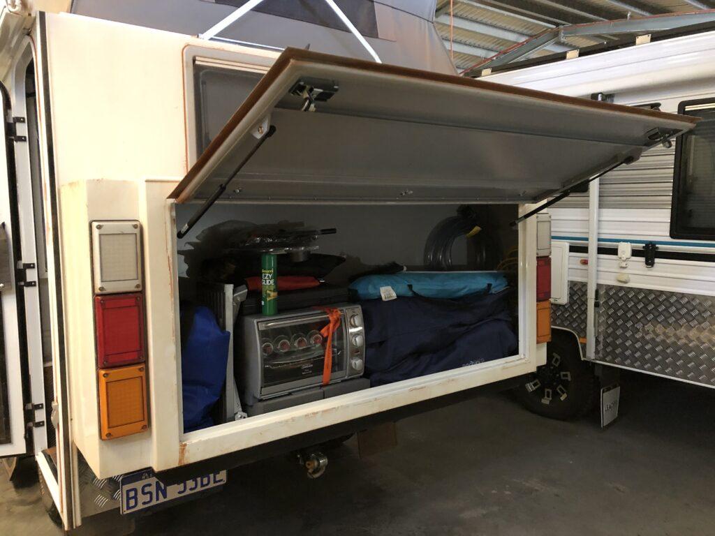 Campervan Storage Ideas