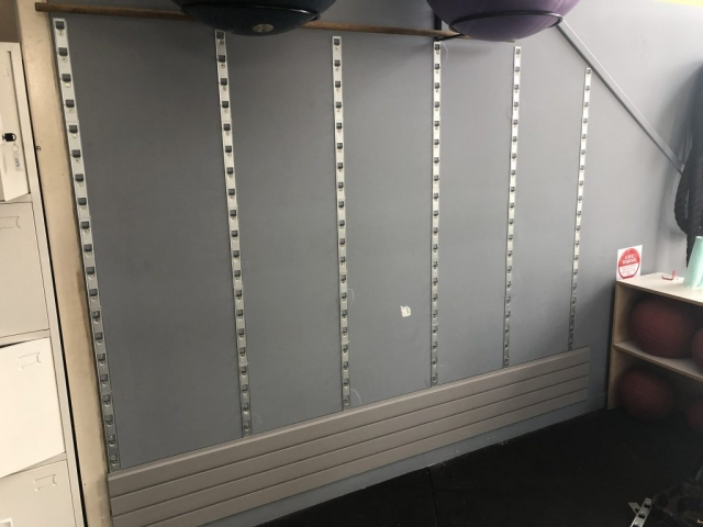 StoreWALL Wall Panel Installation