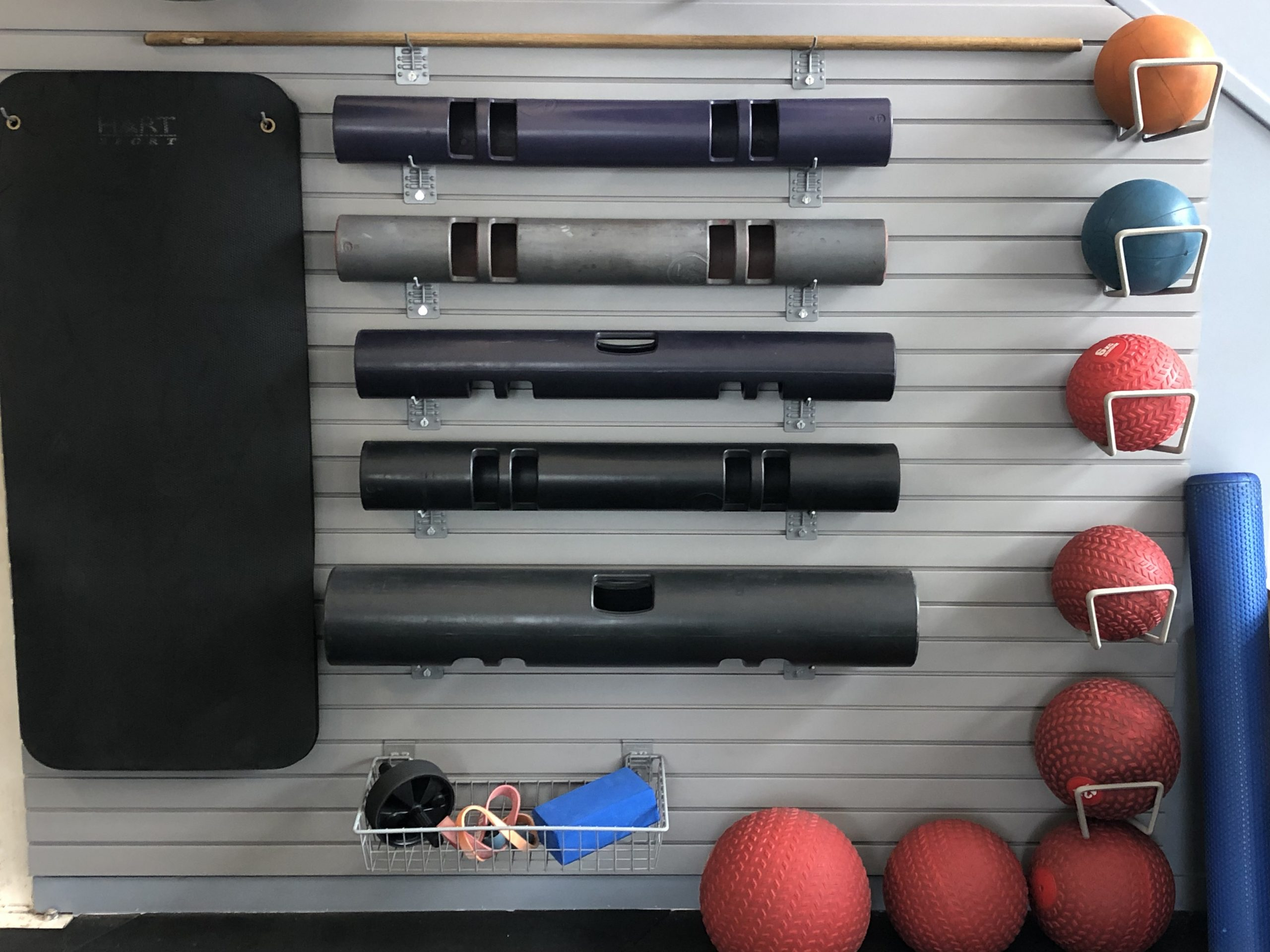 Gym Equipment Storage