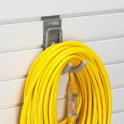 Storing power cables in garage