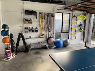 Garage Fitness Room