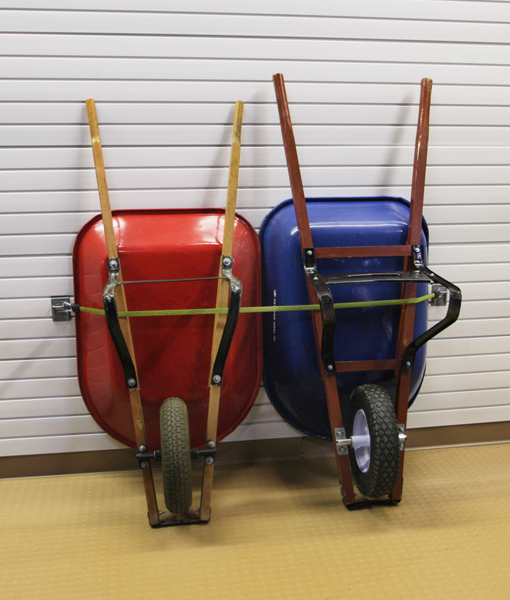 Storing Wheelbarrow in Garage