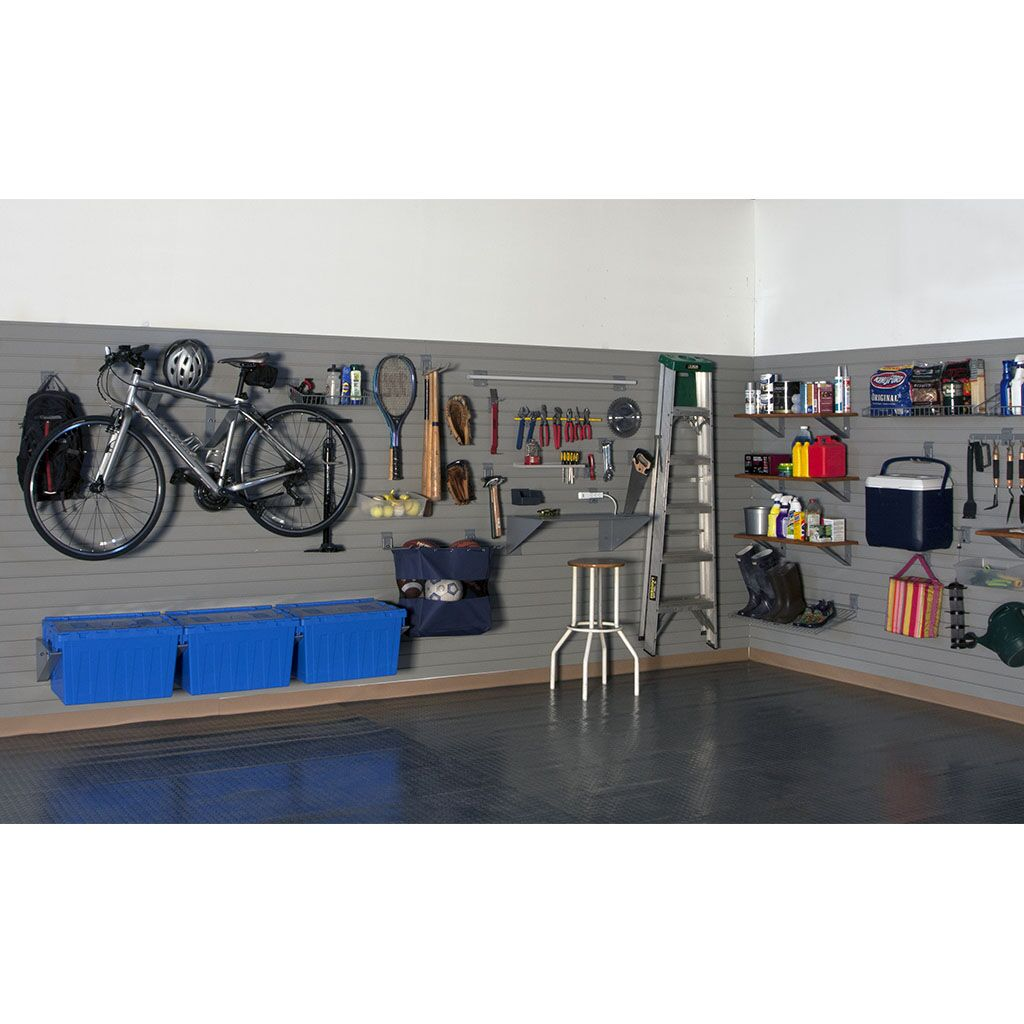 Garage Ladder Storage