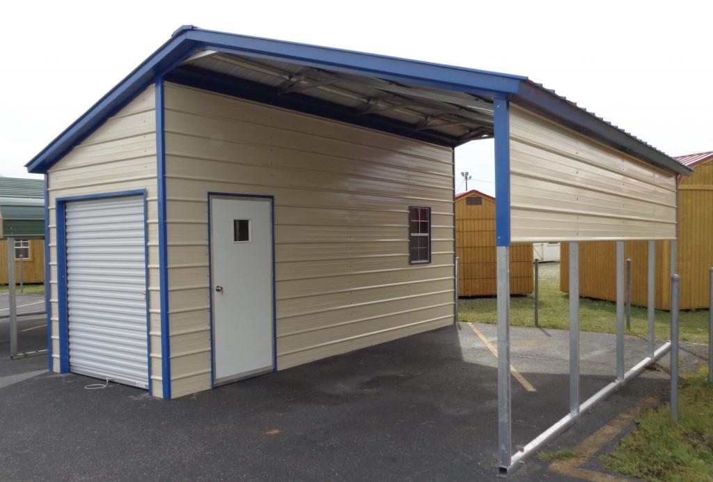 Carport Storage Solutions -   Carport Shed Options