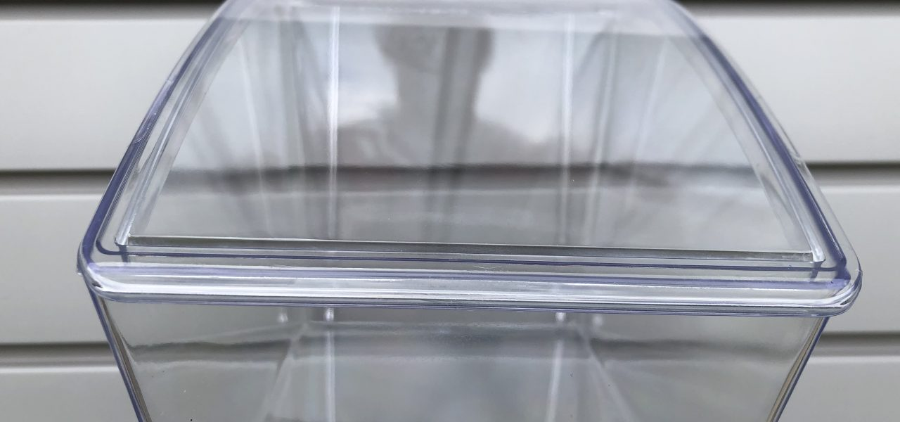 clear storage box with lid