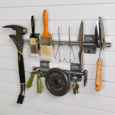 Magnetic Garage Shelf