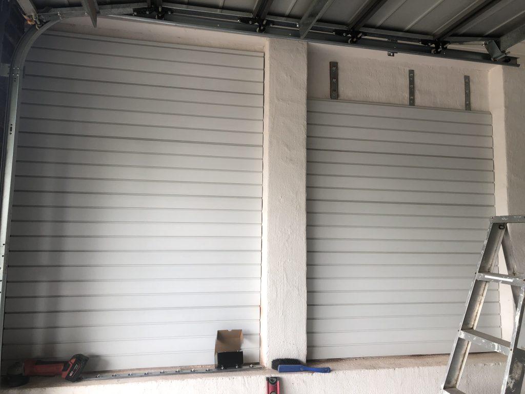 White SlatWall Panels