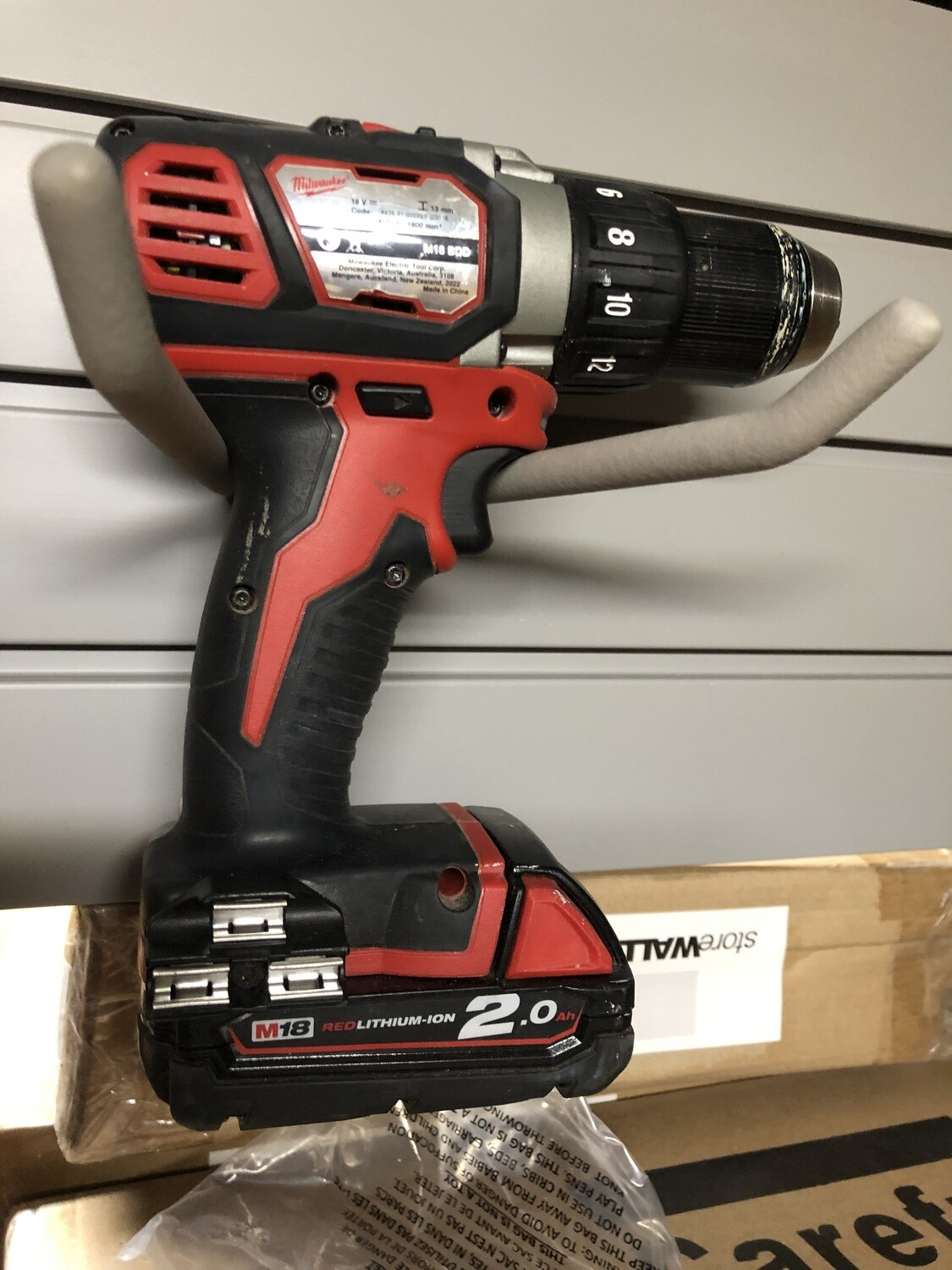 Wide Hook - power tool storage